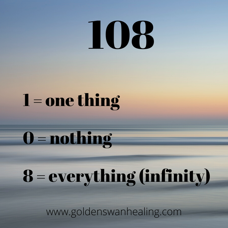 108, the sacred number