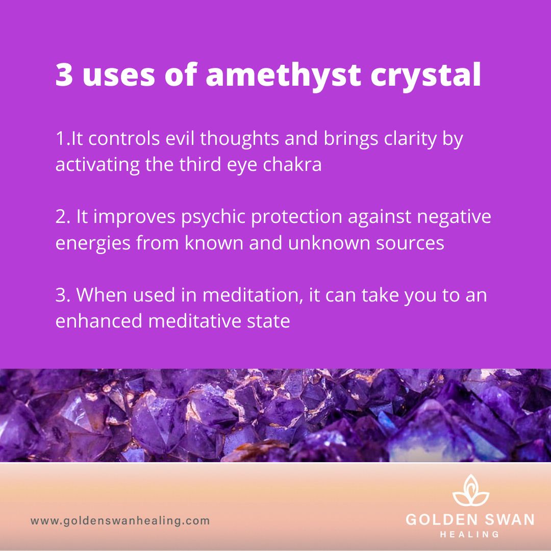 Amethyst Crystal Uses