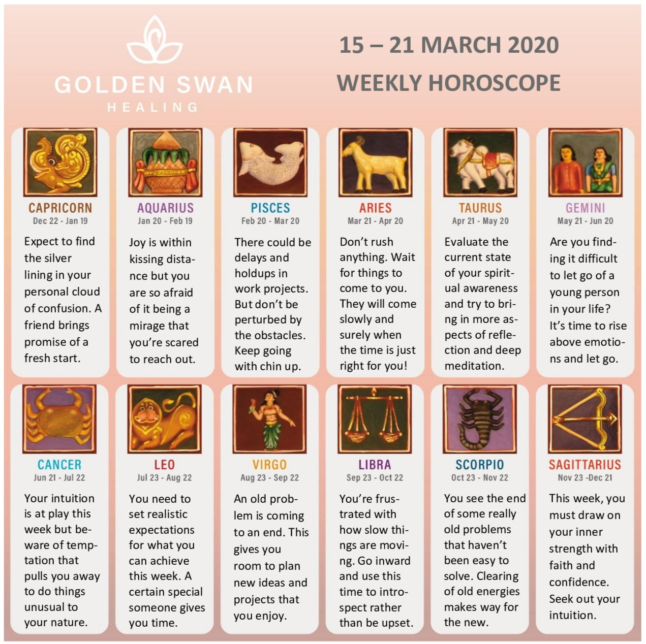 Weekly Horoscope 15 – 21 March
