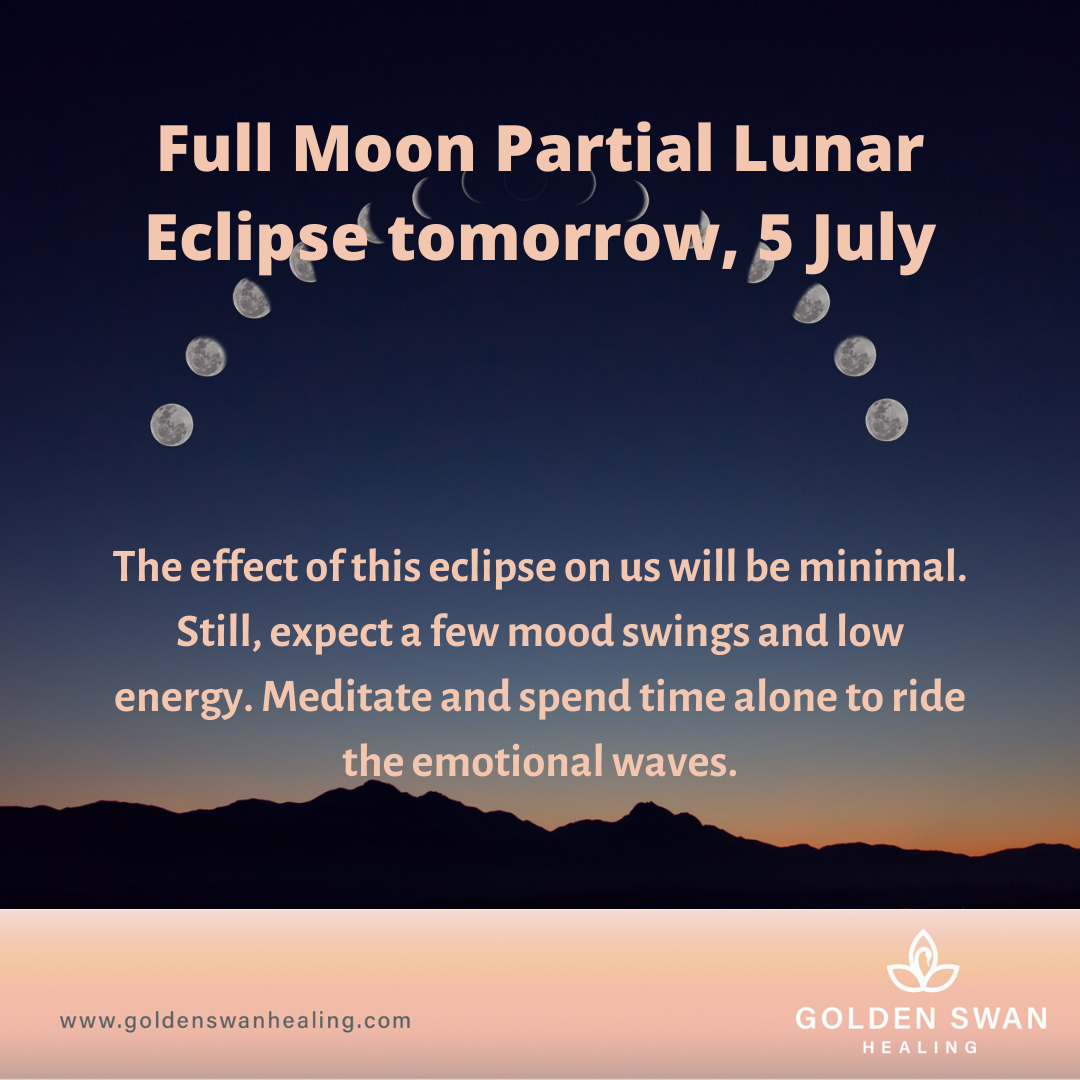 Full Moon Partial Lunar Eclipse