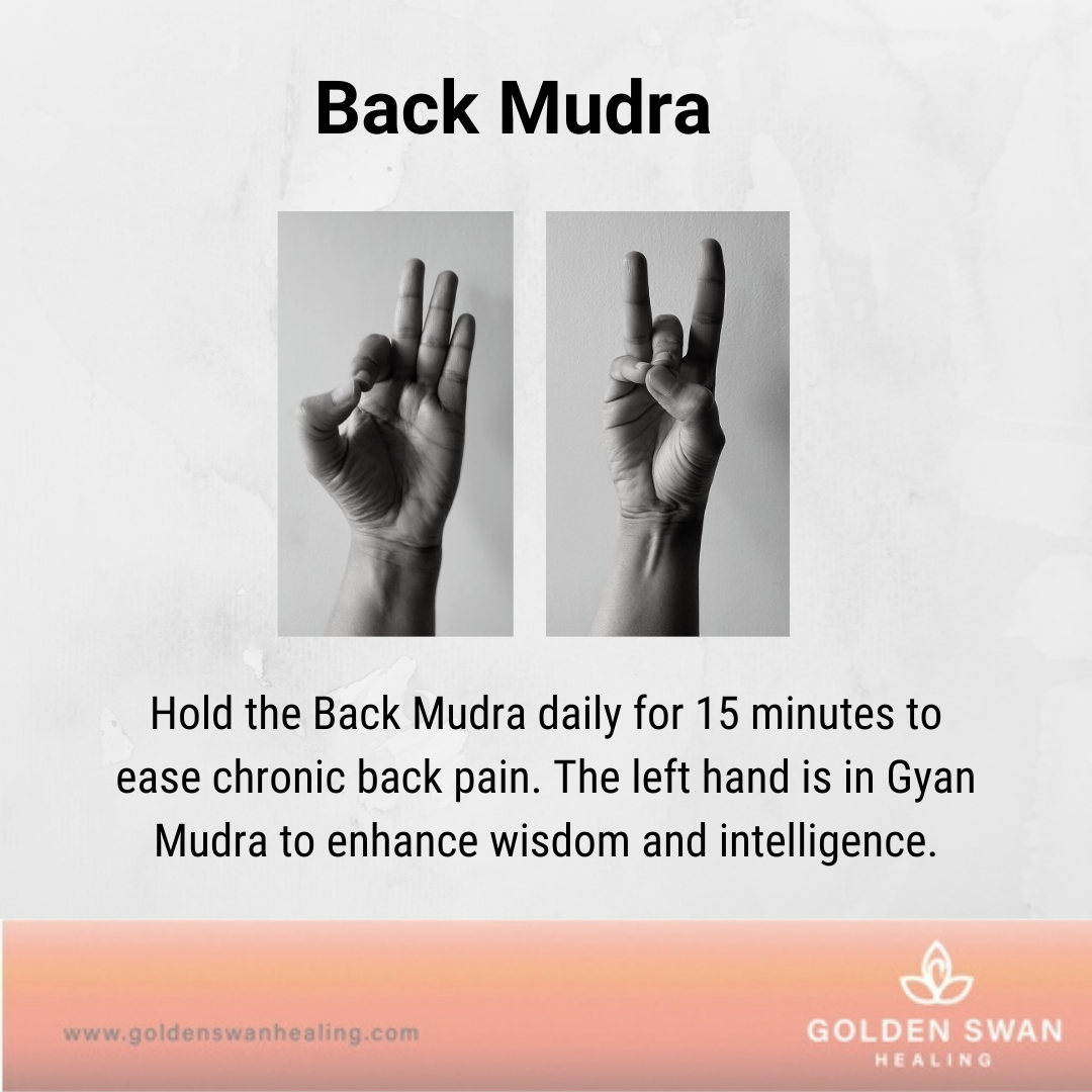Mudra for Back Pain