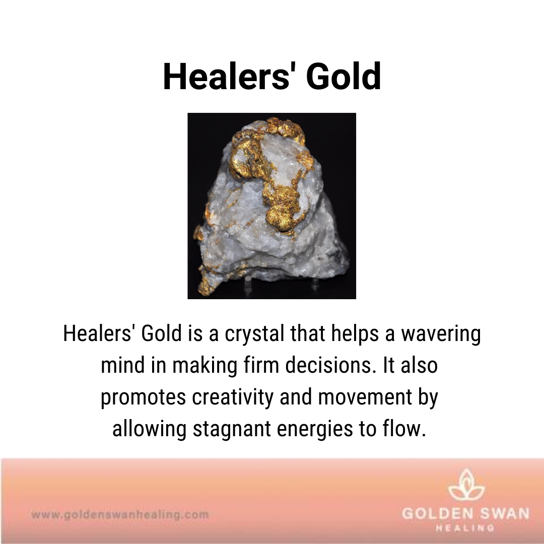 Healers' Gold Crystal